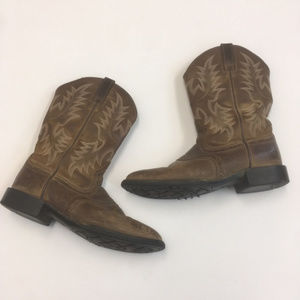 Ariat womens 7 B brown western boots